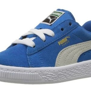Puma Sneakers  Baby  Size 6 ~ Blue Suede